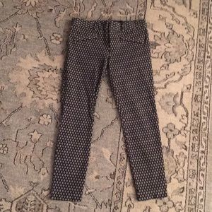 Worn once! Gap fitted crop pant.